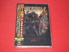 POWERWOLF The Metal Mass Live JAPAN 2 DVD + CD EDITION