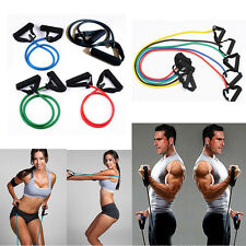 Sport Exercise Latex Resistance Bands Pilates Tube Gym Yoga Fitness Stretch