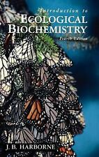 Introduction to Ecological Biochemistry, Fourth Edition