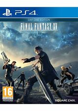 PS4 Final Fantasy XV Day One Edition NUOVO (Multilingua Italiano Incluso)