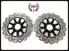 Front Brake Disc Rotors Set  Kawasaki ZX6R ZX10R Z1000R Versys 650 Wave Rotors