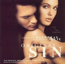 NEW/SEALED ORIGINAL SIN OST SOUNDTRACK CD SCORE TERENCE BLANCHARD