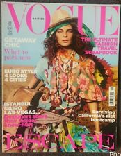 VOGUE UK British January 2005 Daria Werbowy Michelle Buswell Rie Rasmussen