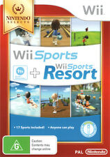 Wii Sports And Wii Sports Resort (nintendo Selects)  - Wii game - BRAND NEW