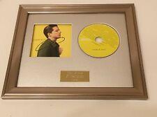 SIGNED/AUTOGRAPHED CHARLIE PUTH - NINE TRACK MIND FRAMED CD PRESENTATION.