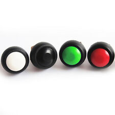 New Mini 4Pcs 12mm Waterproof Momentary ON/OFF Push Button Round Switch Home