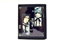 Black Butler PU Leather Wallet / Ciel Phantomhive, Sebastian Michaelis (BLB-B2C)