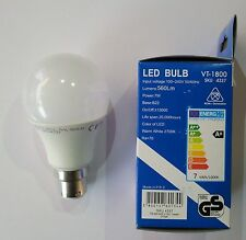 (TEN PC PACK) Warranty 10 Watt LED Bulb - White Light (6000K)