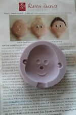 Karen Davies Face/Head LARGE Mould - High Quality Flexible Silicone Moulds