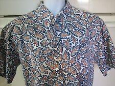 Reyn Spooner Hawaiian shirt 2xl reverse print Commemorative Classics leaves