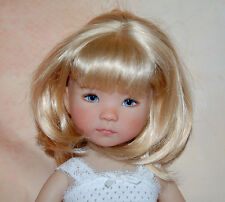 Custom made doll wig style and perfect fit for Dianna Effner Little Darling