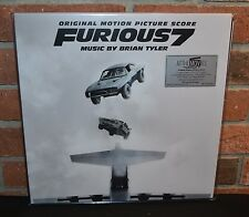 FURIOUS 7  - Soundtrack O.S.T. Limited 280G 2LP COLORED VINYL #'d Gatefold NEW!