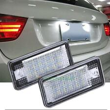 2Pcs LED Number License Plate Light Lamp For Audi A3 S3 A4 S4 A6 C6 A8 S8 Q7 RS6