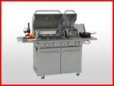 Coobinox Edelstahl Gasgrill 4 Brenner DOUBLE POWER Griller Sizzle Außenküche 17
