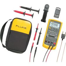 Fluke 87V/E2 Industrial True-RMS Multimeter Combo Kit (87-5/E2-Kit)