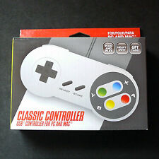 RetroLink Super Nintendo Famicom SNES PC Mac USB Controller Gamepad Color Button