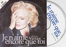 CD CARTONNE CARDSLEEVE SYLVIE VARTAN JE N'AIME ENCORE QUE TOI 2T DE 1996