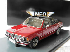 BMW 3ER E21 320 BAUR RED NEO 43289 1/43 CABRIOLET ROT CONVERTIBLE ROSSO ROUGE