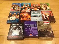 Lot Of 11 DVD Box Sets ( Little House Csi A team Ww1 Lost Engineering Macgyver )