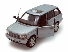 "Welly Land Rover Range Rover SUV 1:24 scale 8"" diecast model car Silver W108"