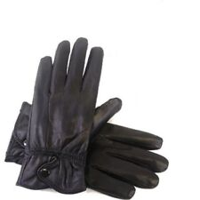 WOMENS GENUINE  LEATHER GLOVES. SIZE: M/L