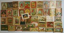 INDIAN VINTAGE TREAD MILL LABELS 43 PIECES ALL DIFFERENT