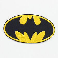 1pcs Batman Logo Fabric Embroidered Iron/Sew On Patch for Clothes DIY Crafts