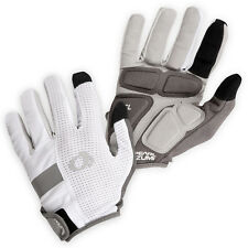 NEW Pearl Izumi Men's Elite Gel Gloves Full Finger Bicycle Cycling White - Large
