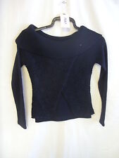 Ladies Jumper - Mirror, size S (8), black, knitted, acrylic, roll neck BNWT 7687