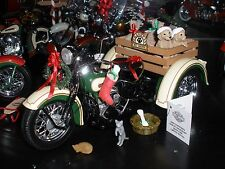 THE FRANKLIN MINT HARLEY DAVIDSON 2009 CHRISTMAS EDITION SERVI-CAR NEW B11F864