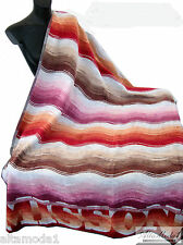 MISSONI HOME MORGAN 156  OVERSIZED BEACH TOWEL VELOUR - TELO MARE CINIGLIA