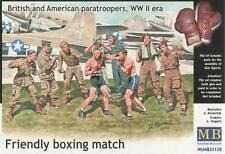Friendly match de boxe. british & u.s. parachutistes, 1944 #35150 1/35 masterbox