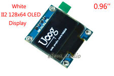 "0.96"" White I2C IIC 128x64 OLED LCD Display Module SSD1306 For Arduino Uno R3"