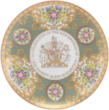 """ROYAL WORCESTER QUEEN ELIZABETH II 90th BIRTHDAY PLATE 8"""" - NEW/BOXED"""
