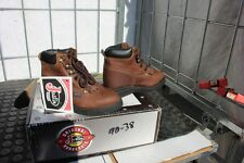 40-43 New child 12D Justin Aged Bark  lace up work boots was 89.00
