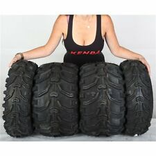 22x7-11, 22x12-9 Kenda Bearclaw K299 6ply Front & Rear ATV UTV Tire Kit -4 Tires
