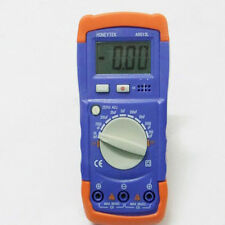Digital LCD A6013L Capacitance Capacitor Meter Tester Multimeter 20mF To 200pF