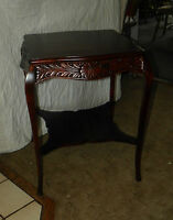 Mahogany Carved Center Table / Parlor Table  (T1)