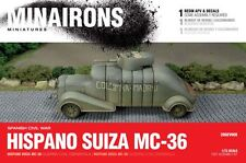 Minairons 1:72 Hispano Suiza MC-36 armoured car - 20mm Spanish Civil War