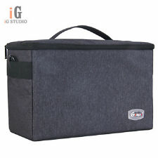Eirmai SLR Portable Camera Inner Partition Padded Protector Case Bag cc-4217
