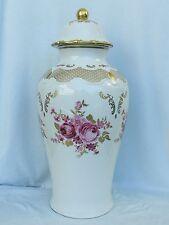 Prachtstück 48 cm große Deckelvase Vase Wallendorf W 1764 Porzellan,Top RAR