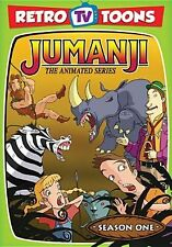 JUMANJI: ANIMATED SERIES - SEASON 1 (Bill Fagerbakke) - DVD - Sealed Region 1
