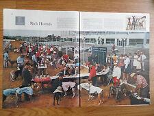 1961 Photo Article Ad $50,000 Phoenix Futurity Greyhound Park at Phoenix AZ