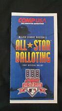 (3) Vintage MINT 1997 Major League Baseball MLB All-Star Ballots Jeter Sandberg
