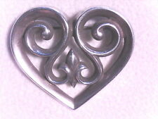 JAMES AVERY, FRENCH HEART PIN, .925, RETIRED!!! (16403208)