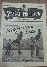 Niedersachsen Berlin 1948 Programm Braunschweig Hannover 96  Werder Bremen