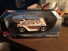 1:18 Hot Wheels ED ROTH'S BEATNIK BANDIT SHOW Diecast Car White With Graphics# 1