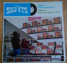 The Sights – Sticks And Stones - Cass Records MAMA 009 - (USA 2005)