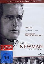 DVD-BOX - Paul Newman Collection - 3 Filme - Der Clou / Schlappschuss u.a.