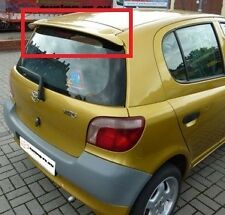 TOYOTA YARIS 1 MK1 2000 - 2006 REAR ROOF SPOILER NEW